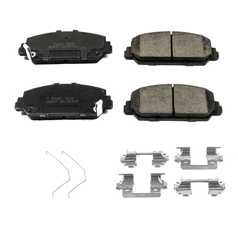 Z17 Evolution Plus Brake Pads for 2017+ Honda Civic Si - Two Step Performance