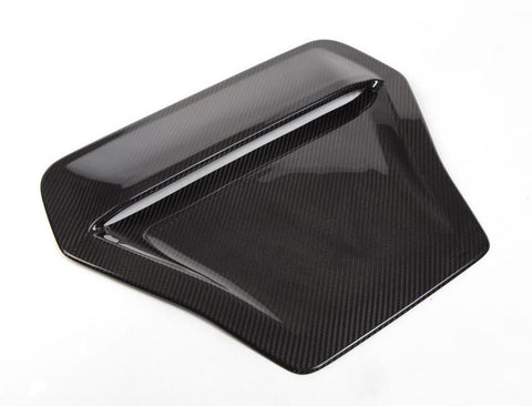 Dry Carbon Hood Scoop Cover for 2017+ Honda Civic Type R FK8 - Two Step Performance