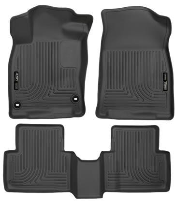 WeatherBeater Combo Black Floor Liners for 2016+ Honda Civic - Two Step Performance