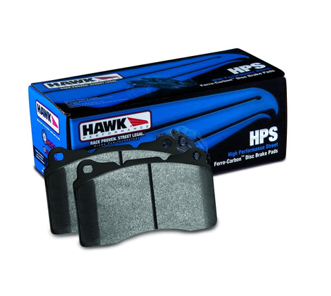 HB662F.587 HPS Brake Pads for Non-Brembo Brakes Rear - Two Step Performance