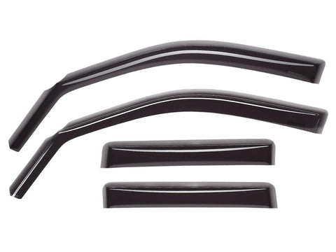 SIDE WINDOW DEFLECTOR 4 PIECE KIT for 2016+ Honda Civic - Two Step Performance