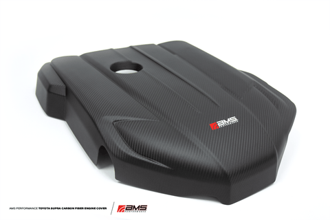 Carbon Fiber Engine Cover for 2020+ Toyota Supra A90 - Two Step Performance