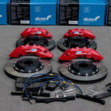 RC4 & RC6 Big Brake Kits for 2009+ Nissan GT-R R35 - Two Step Performance