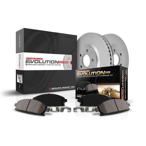 Z17 Evolution Geomet® Coated Brake Kit for 2016+ Honda Civic Non-Si - Two Step Performance
