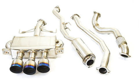 Q300 Cat-Back Exhaust System for 2017+ Honda Civic Type R FK8 - Two Step Performance
