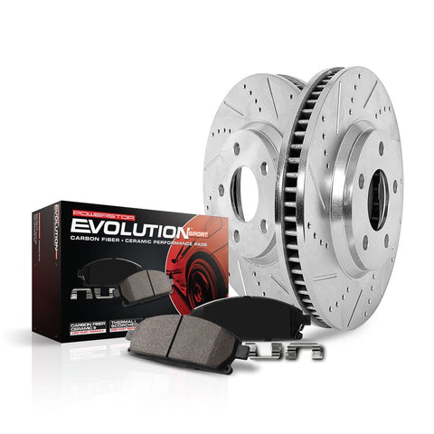 Z23 Evolution Sport Front Brake Upgrade for 2018+ Honda Accord - Two Step Performance