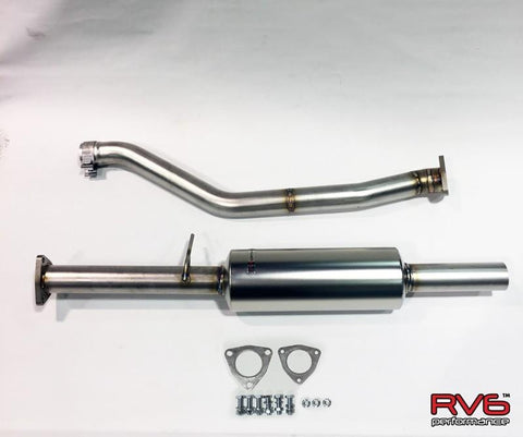 Resonated Midpipe for Accord Sport ONLY I4 (2.4L) - Two Step Performance