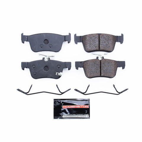 Track Day Rear Brake Pads for 2016+ Honda Civic Non-Si - Two Step Performance