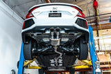 Catback Exhaust for 2017+ Honda Civic Si - Two Step Performance
