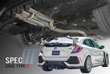 Spec III Cat-Back Exhaust for 2017+ Honda Civic Type R FK8 - Two Step Performance