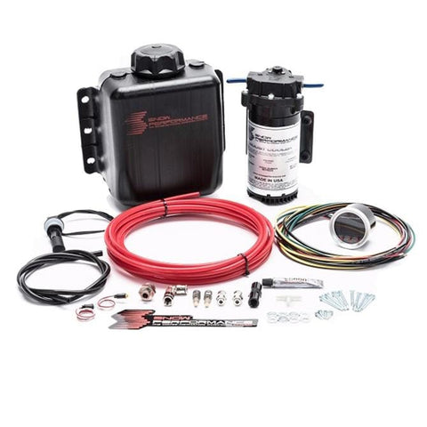 Stage 2.5 Boost Cooler Forced Induction Progressive Engine Mount Water-Methanol Injection Kit - Two Step Performance