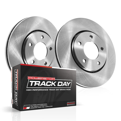 Track Day Rear Brake Kit for 2016+ Honda Civic Non-Si - Two Step Performance