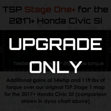 Stage 1 to Stage One+ UPGRADE for the 2017+ Si (Existing Stage 1 Owners Only) - Two Step Performance