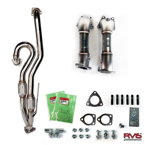 V3 Jpipe & PCDs™ (Precat Deletes) Combo for 04-08 TL & TL-S - Two Step Performance
