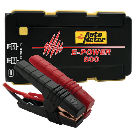 Jump Starter 12V Emergency Battery Pack 800A Peak / 2220 MAH - Two Step Performance