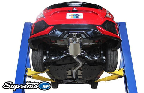 76mm Supreme SP Cat-Back Exhaust for 2017+ Honda Civic 1.5T Sport Hatchback - Two Step Performance