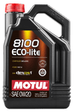 8100 Eco-Lite 0w20 Synthetic Oil - Two Step Performance