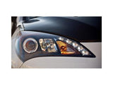 PROJECTOR HALOGEN - LED HALO HEADLIGHTS - BLACK (Non-HID) - Two Step Performance