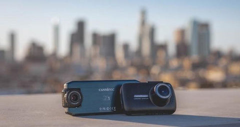 Cansonic Dash Cams with Los angeles city