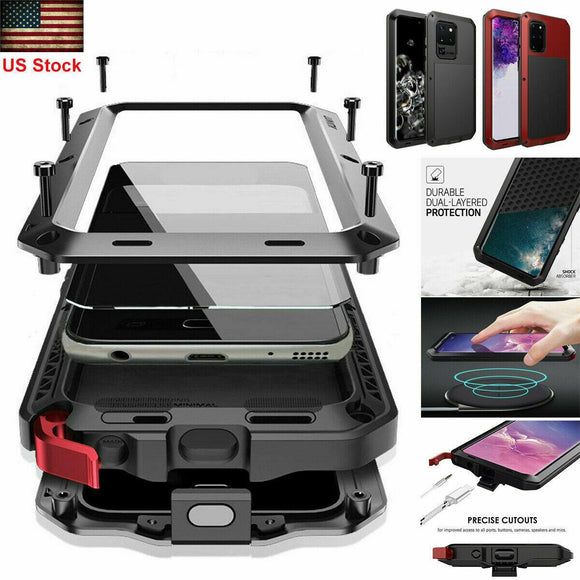 Aluminum Heavy Duty Case for Samsung S20+/ Ultra
