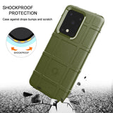 Shockproof Rugged Shield Matte Back Case for Samsung Galaxy S20 FE