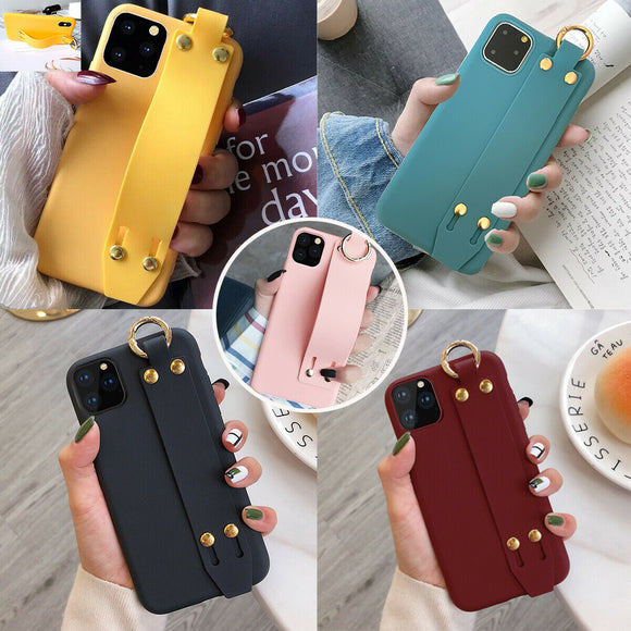 Cute Case Soft Silicone Strap for iPhone 11/12