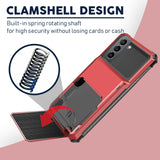 Case Card Slots Holder Wallet Rugged for Samsung Galaxy series