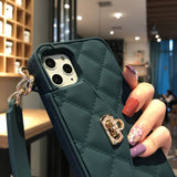 Handbag Crossbody Wallet Strap Case For iPhone - carolay.co phone case shop
