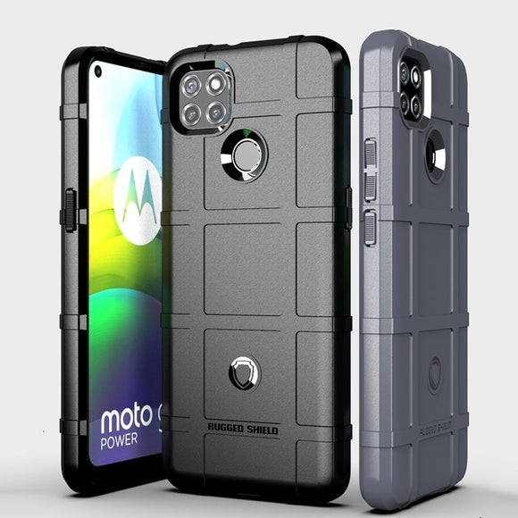 Rugged Shield Silicone Case Shockproof Cover for Motorola