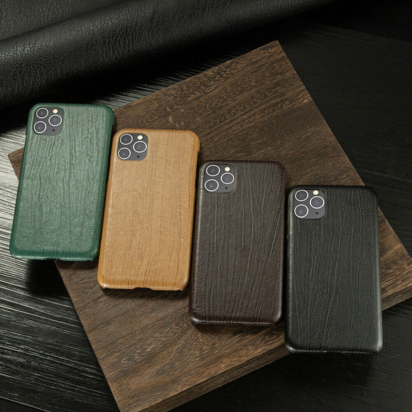 Slim Hybrid Leather Back Case Skin For iPhone - carolay.co phone case shop