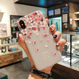 Clear Case Shockproof Protective Cute for iPhone