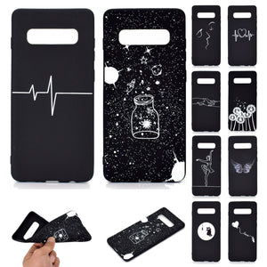 Soft Silicone Pattern Slim Back Case For Samsung Galaxy - carolay.co phone case shop