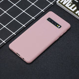 Silicone Soft Stand Cover+Wrist Strap For Samsung Galaxy - carolay.co phone case shop