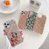 Case Luxury Leopard Soft Shockproof Back Cover For iPhone - carolay.co - free shipping