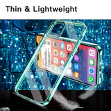 Soft Back Cover Transparent Shockproof For iPhone