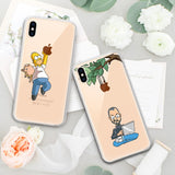 Soft Silicone TPU Cool Pattern Phone Case - carolay.co phone case shop