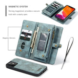 Retro Flip Case Leather Fitted Scratch resistant Wallet Case For iPhone - carolay.co - free shipping