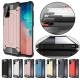 Protective Hybrid Armor Hard Case for Samsung Galaxy S21/Ultra/Plus