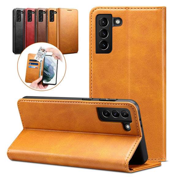 Flip Leather Card Wallet Case for Samsung Galaxy series