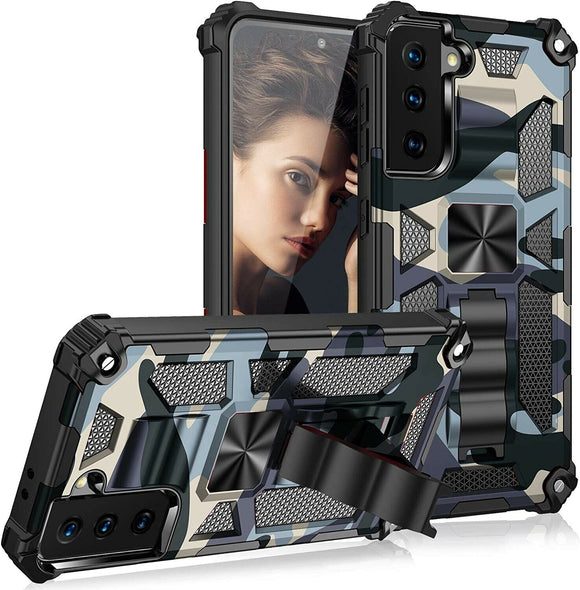 Hybrid Case Camouflage Kickstand for Samsung Galaxy