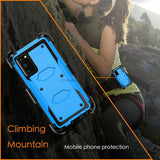 Heavy Duty Shockproof Hybrid Case With Holster For Samsung Galaxy series