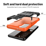 Rugged Shockproof Rubber Case for Samsung Galaxy S21/Plus/Ultra
