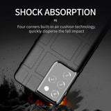 Rugged Silicone Back Protective Case For Samsung S21/Ultra/Plus