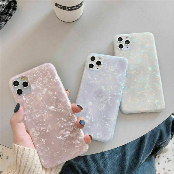 Glitter Marble Shockproof Case Slim for iPhone
