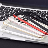 Flexible Silicone Aluminum Bumper Case For iPhone - carolay.co phone case shop