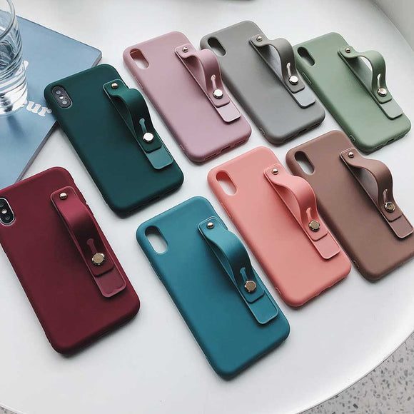Boucho Wrist Strap Phone Case For iPhone 11 Pro Max - carolay.co - free shipping