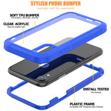 Phone Case For iPhone Hybrid Transparent Protection PC Back Cover - carolay.co phone case shop