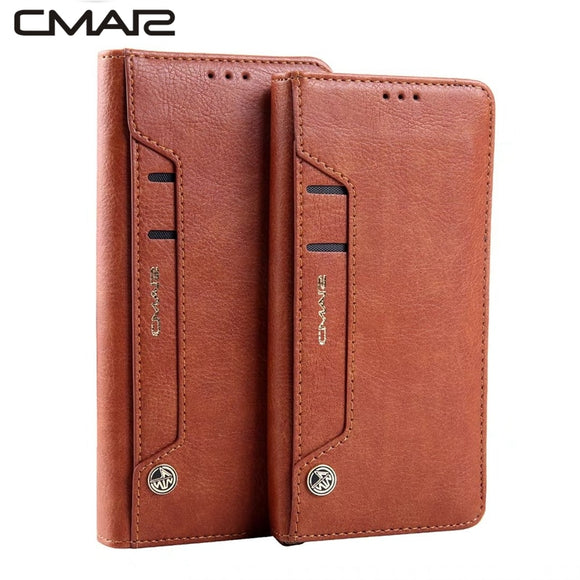 Leather PU Case Cover Flip Wallet for Samsung Galaxy - carolay.co phone case shop