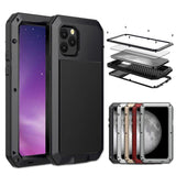 Doom armor Metal Aluminum Shockproof Phone Case for iPhone 11 - Pro - Max - carolay.co phone case shop
