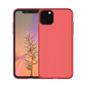 Magnetic Car Holder Case for iPhone 11 Pro Max Soft Matte Silicone - carolay.co phone case shop